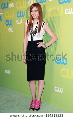 Ashlee Simpson Wentz, wearing Lanvin shoes, at The CW Network Upfronts, Madison Square Garden, New York, NY May 21, 2009