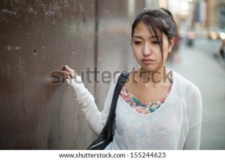 stock photo asian woman walking depressed sad 155244623 The various Uses Of Sugar Arrangemets