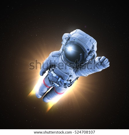 Astronaut conquers outer space