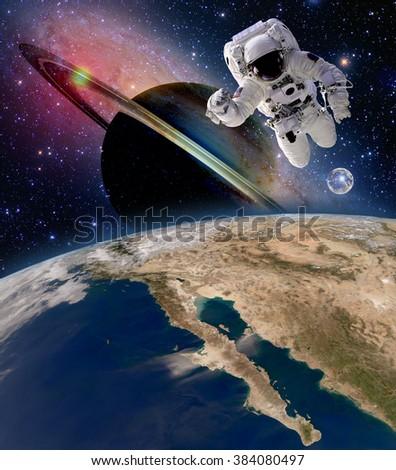 astronauts on saturn - photo #23