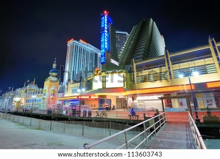 Legalized gambling in new jersey casinos from california