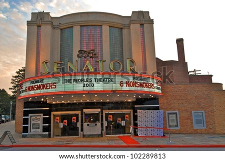 "Atmosphere at a screening of ""6 Nonsmokers,"" Senator Theater, Baltimore, MD. 06-26-10 Photos Courtesy Lee Monroe/DailyCeleb.com"