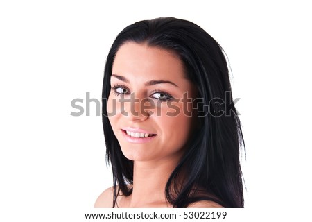 attractive amused woman