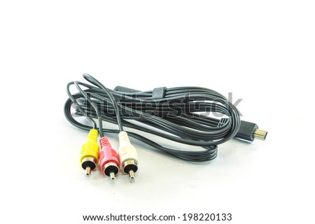 audio-video analog cable
