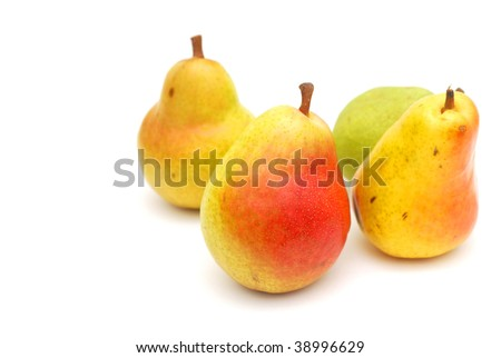 Autumn pears collection