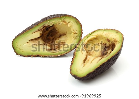 Avocado Hass Cross section