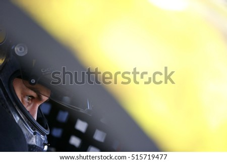 Avondale, AZ - Nov 12, 2016: Joey Logano (22) gets ready to practice for the Can-Am 500(k) at the Phoenix International Raceway in Avondale, AZ.