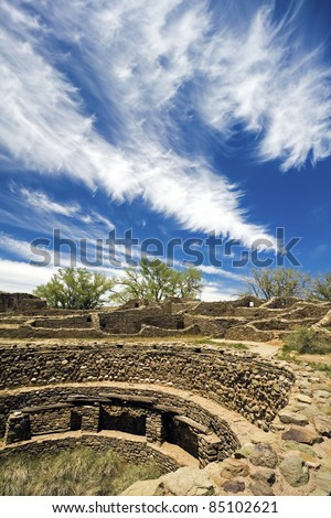 Aztec Ruins in New Mexico, USA