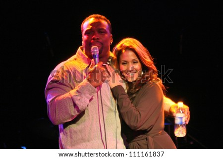 B.J. and Yvette Lopez  at a Charity Event to Benefit a Living Victim of the BTK Strangler. The Roxy, West Hollywood, CA. 09-23-07