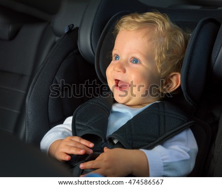 Baby Boy 8 Months Old Smiling Stock Photo 471073565