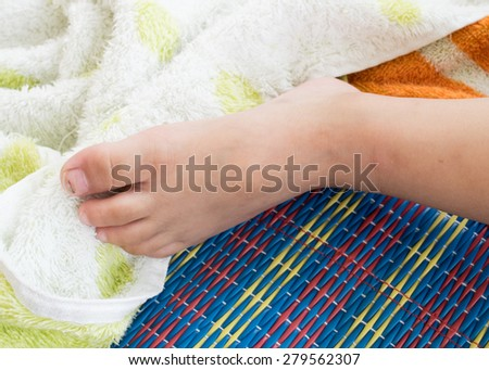 process working on piece embroidery closeup stock photo 119538130 shutterstock. Black Bedroom Furniture Sets. Home Design Ideas