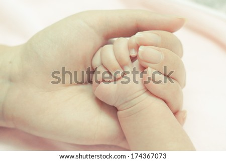 baby's hand / infant's hand