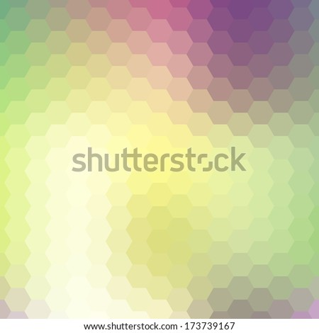 Background geometric pattern. Summer or spring theme. Colorful mosaic banner. Geometric background with place for your text. Abstract background for design
