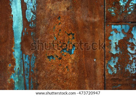Background image of a piece of rusty iron.