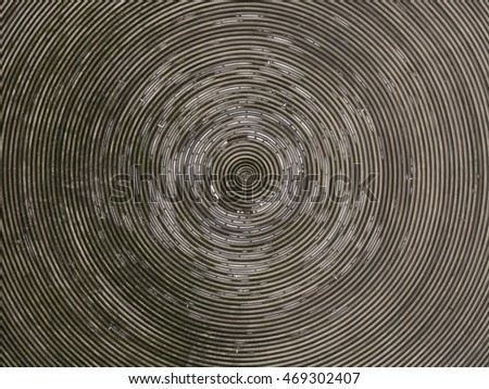 background metal spiral