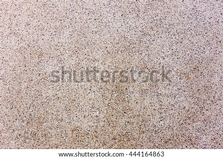 background of sand and small gravel stone texture