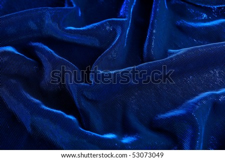 Background of the blue crease material