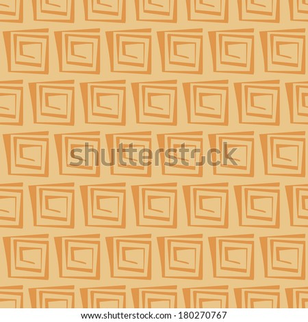 background, seamless pattern with yellow elements, geometric design, illustration