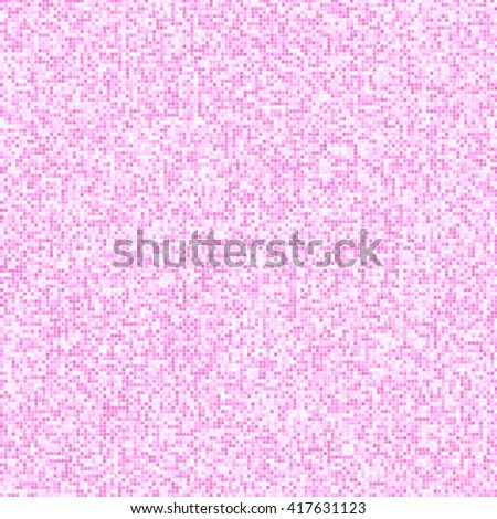 Background small ceramic tile, pink. Bright and decorative background, motley tile, basis for design. A decor of walls, a floor in a bathroom, kitchen.