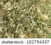 Background with loose herbal tea - stock photo
