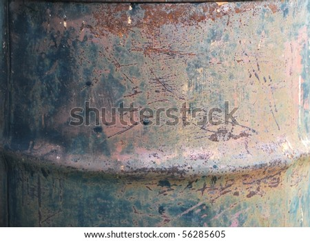 background with old rusty iron, brown and gray