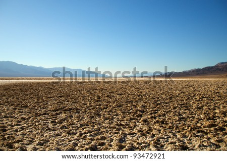 Badwater, Death Valley National Park  California, USA.