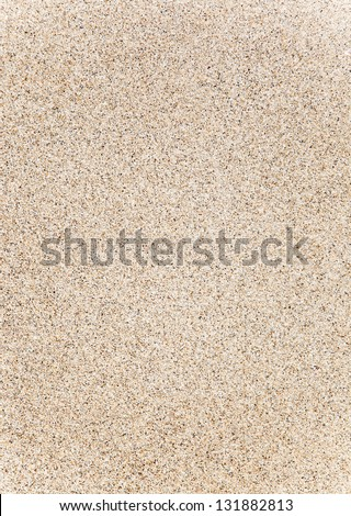 Balearic islands sand texture in Formentera as a perfect summer background