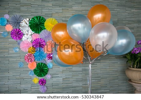 Balloons for a party.