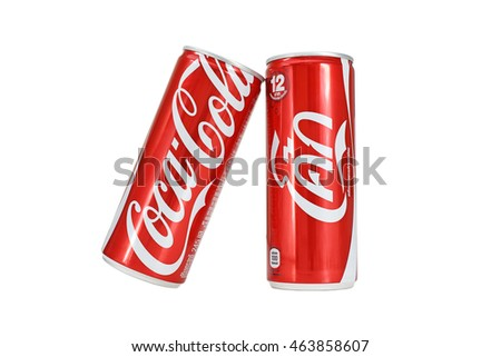 bangkok thailand aug 2 cocacola cans stock photo 463858625 shutterstock. Black Bedroom Furniture Sets. Home Design Ideas