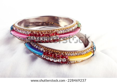 Bangles. Very Beautiful Indian Bracelets