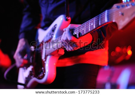 Hands Guitar Stock Photo 596567921 - Shutterstock