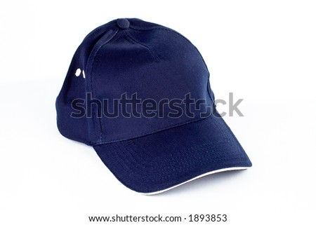 Baseball cap on white background
