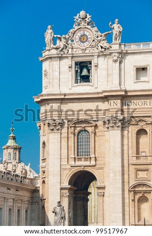 Basilica of Saint Peter, Vatican City, Rome, Italy