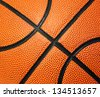 basketball texture - stock photo