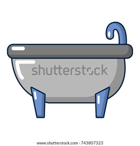 bathtub cartoon. Bathtub icon  Cartoon illustration of bathtub for web design Icon Illustration Vector Stock