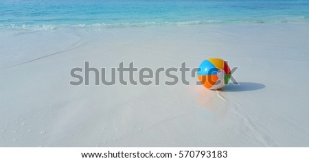 Swimming Pool Beach Ball Background colorful beach ball water isolated on stock illustration 119892946