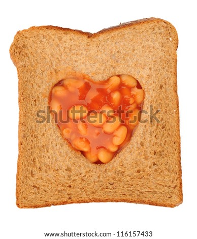 Beans in toast