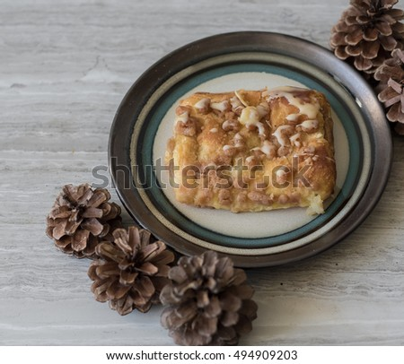 Bear Claw Snack on Plate