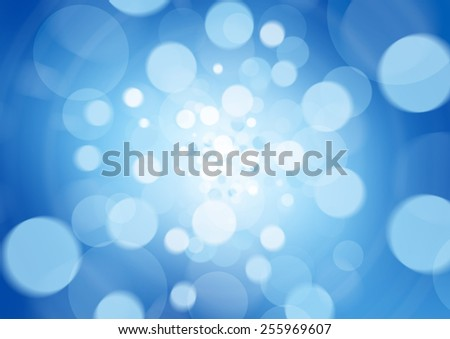beatiful blue abstract light background defocused
