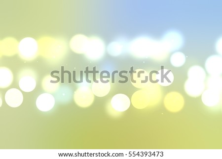 Beautiful Abstract multicolored bokeh circles background with particles. Vibrant de-focused illustration with space to display your text or title.