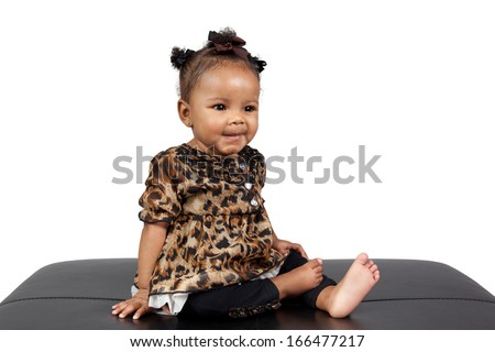 Portrait Beautiful Young African American 6 Stock Photo