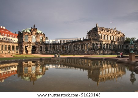 Beautiful city of Dresden, in Eastern Germany