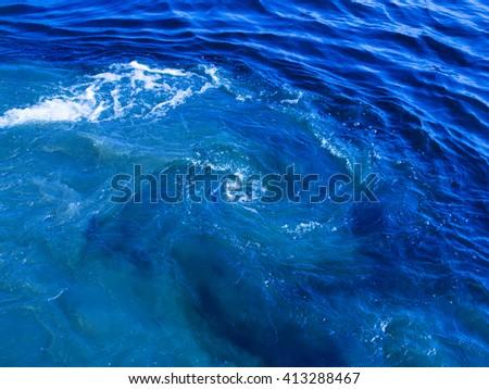 Wave Ocean Water Background Stock Photo 255200359 Shutterstock