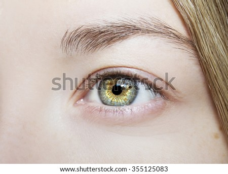 Beautiful insightful look  eyes