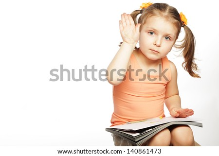 stock photo beautiful little drawing with