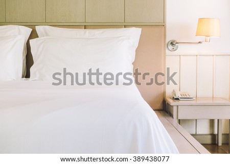 Beautiful young woman lying down bed stock photo 560166403 for Beautiful bed decoration