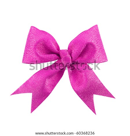 Shutterstocklvvgift bow beautiful pink gift bow isolated on white negle Image collections