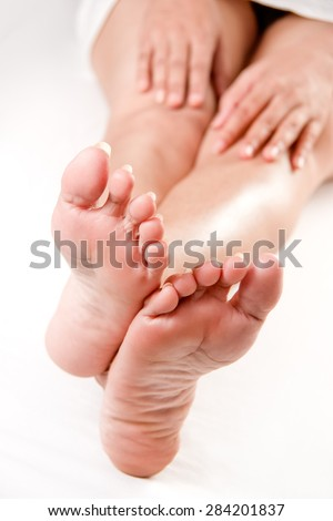 Cheaply sexy soft feet confirm. All