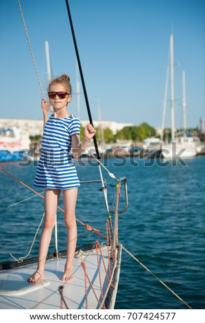 Beautiful woman girl fishing rod trolling stock photo for Little girl fishing pole
