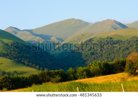 Beautiful summer landscape, Armenia
